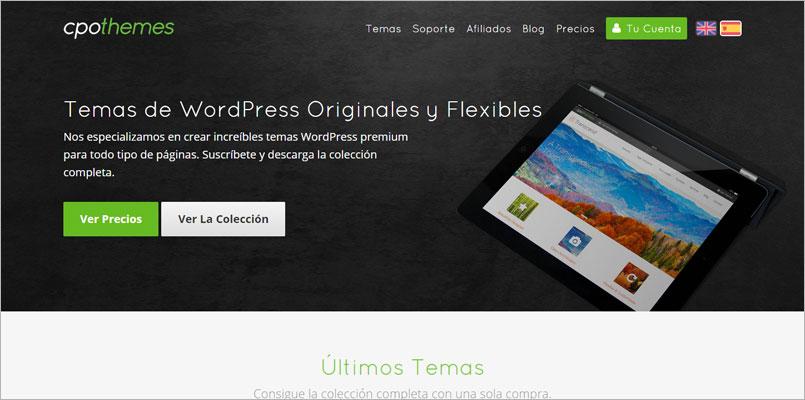 Llega la primera tienda de temas WordPress en Español