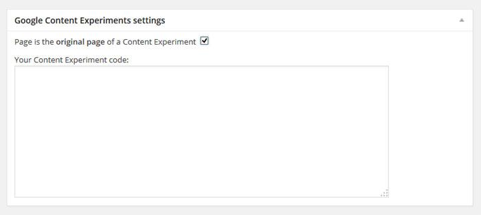 google-content-experiments