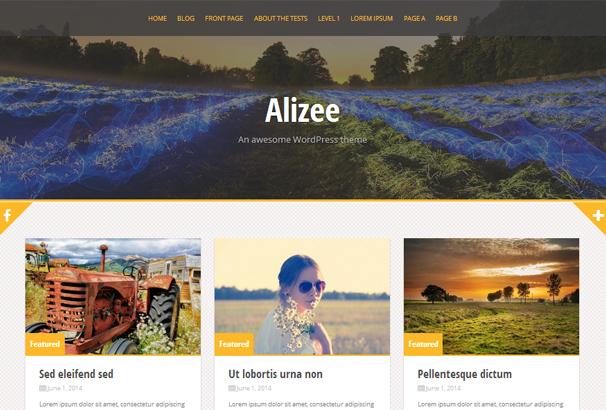 Alizee Free WP Theme